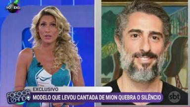 Lívia Andrade e Marcos Mion