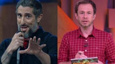 Marcos Mion e Tiago Leifert costumam trocar elogios e mensagens nas redes sociais
