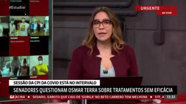 Maria Beltrão desabafou no Estúdio i