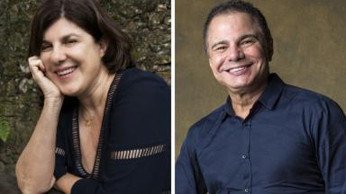 Maria Helena Nascimento e Ricardo Linhares