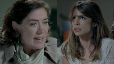 Lilia Cabral e Maria Ribeiro em cena da novela Império, em reprise na Globo