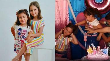 As irmãs Maria Antônia e Maria Eduarda