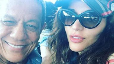 Maria Melilo ao lado namorado milionário