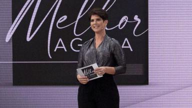 Mariana Godoy apresenta o programa Melhor Agora