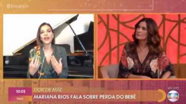 Mariana Rios no Encontro
