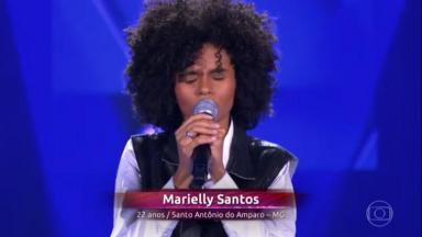 """Cantora no """"The Voice"""""""