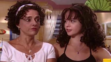 Marieta Severo e Guta Stresser como Dona Nenê e Bebel na série A Grande Família, da Globo