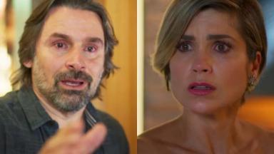 Murilo Rosa e Flávia Alessandra em cena da novela Salve-se Quem Puder, da Globo