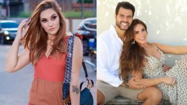 Maryllia e Nicole e Marcelo Bimbi