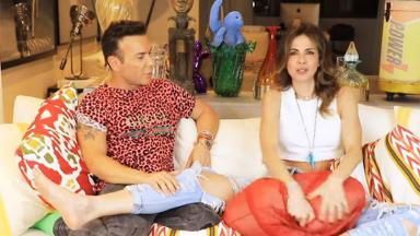 Matheus Mazzafera e Luciana Gimenez