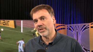 Mauro Beting em entrevista ao Primeiro Impacto no SBT