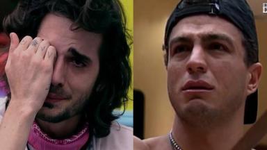 Fiuk e Bambam chorando no BBB