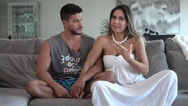 Arthur Aguiar e Mayra Cardi