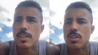 MC Livinho gravou stories