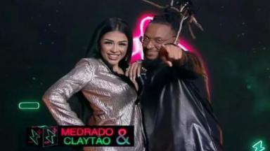 Medrado e Claytão no Power Couple Brasil