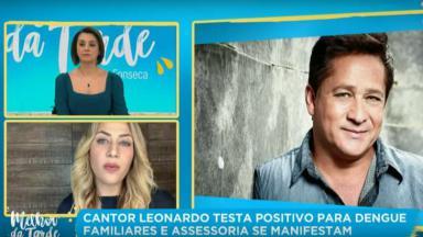 Cátia Fonseca no Melhor da Tarde com filha de Leonardo