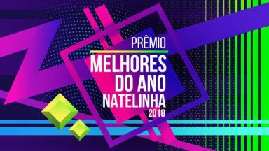 Logo do prêmio Melhores do Ano NaTelinha 2018