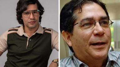 Yamil Ureña e Edgardo Díaz