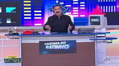 Ratinho estreia quadro Cacetada do Ratinho em seu programa no SBT