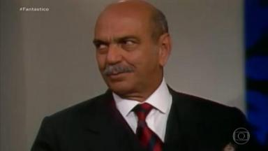 Lima Duarte como Dom Lázaro em Meu Bem, Meu Mal