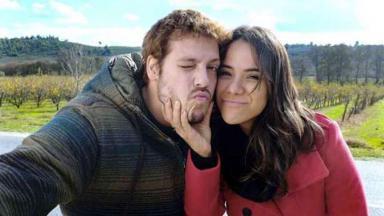 Fábio Porchat e Miá Melo
