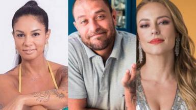 Milena negou qualquer problema com Diogo Nogueira e Paolla Oliveira