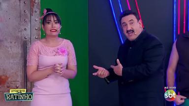 Milene Pavorô e Ratinho
