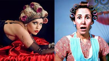 Miley Cyrus e Dona Florinda