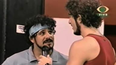 Cidão e Marcos Mion no Descontrole, em 2002