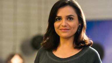 A atriz Monica Iozzi