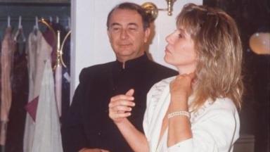 Sérgio Mamberti e Renata Sorrah como Eugênio e Heleninha em cena de Vale Tudo