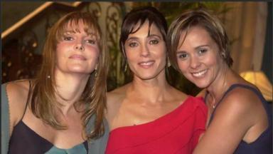 Maria Padilha, Christiane Torloni e Giulia Gam