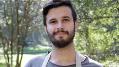 Murilo Marques participou do programa de culinária Bake Off Brasil, do SBT