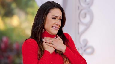 Nadja Haddad, apresentadora do Bake Off Brasil, reality show do SBT
