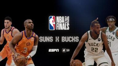 Divulgação das finais da NBA