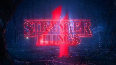 Logotipo da quarta temporada de Stranger Things