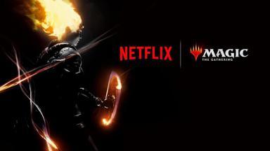 Logo da Netflix e Magic