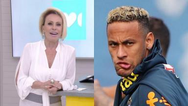 Ana Maria Braga e Neymar
