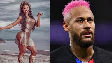Gracyanne Barbosa e Neymar