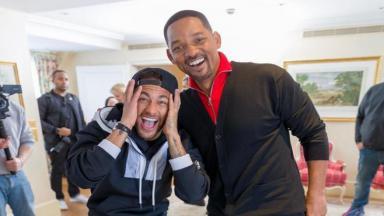 Neymar e Will Smith