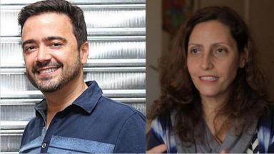 Daniel Ortiz e Claudia Souto