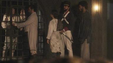 Sebastião sendo preso em Novo Mundo