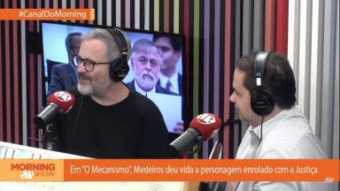 """Leonardo Medeiros no """"Morning Show"""""""
