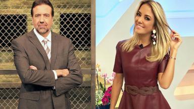 Jorde Lordello e Ticiane Pinheiro