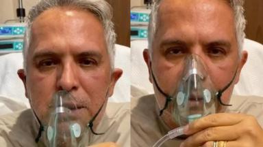 Orlando Morais fala e respira com dificuldade em vídeo postado no Instagrma