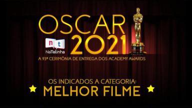 Logotipo do Oscar 2021 do NaTelinha