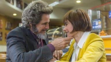 Os atores Edson Celulari e Christiane Torloni