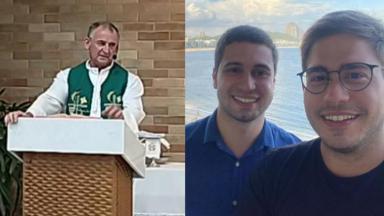 Padre Paulo Antônio Müller, Pedro Figueiredo e Erick Rianelli