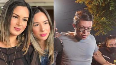 Pamella, Grenda Hollanda e DJ Ivis