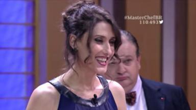 "Paola Carosella no ""MasterChef Brasil"""